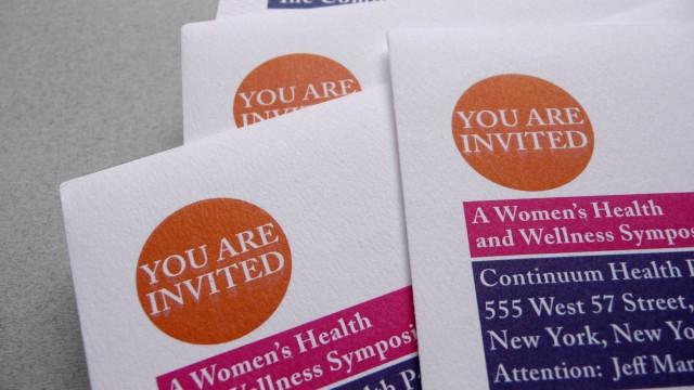 invitation, graphisme, freelance, christine sejean, graphiste, Reims, congrès médical, enveloppe, carton