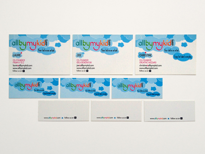 business CARDS 3 allbymykid.com