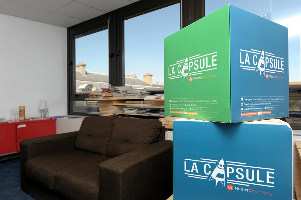 Capsule AXEL COEURET La Capsule by Reims Coworking