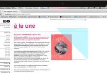 Création, Design de site internet, ESAD de Reims, graphisme, Christine Sejean