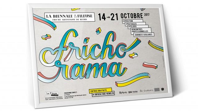 graphiste, reims, christine sejean, lettering, illustration, visuel, frichorama